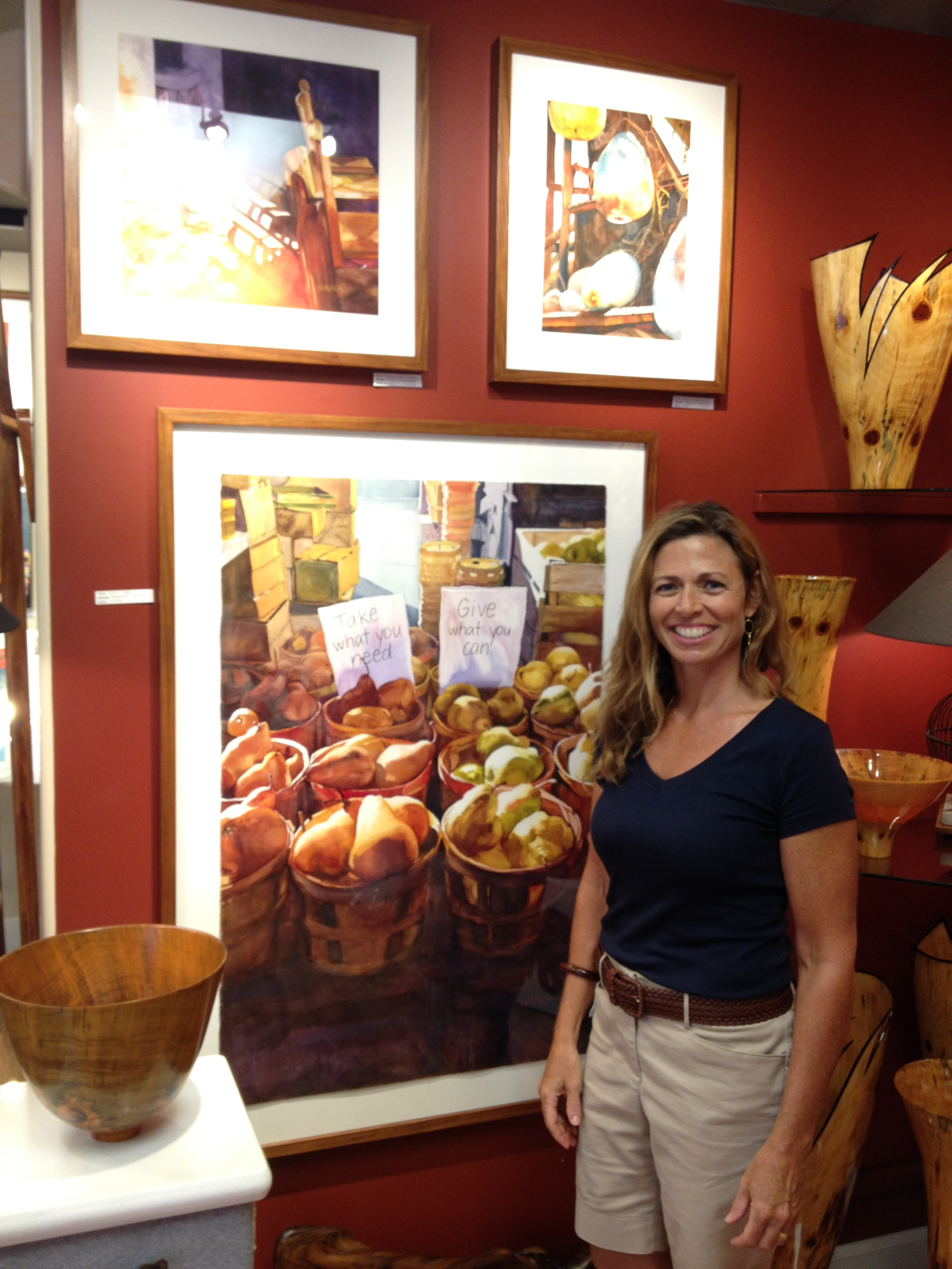 Christine's Art Available at Maui Hands Gallery