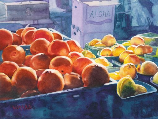 Citrus Bliss watercolor or oranges and lemons