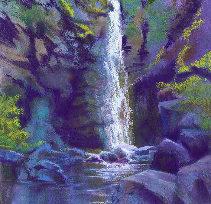 Paint Vibrant Landscapes in Soft Pastels